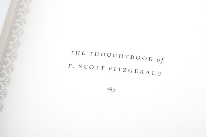 The Thoughtbook Of F. Scott Fitzgerald SLIDE_02