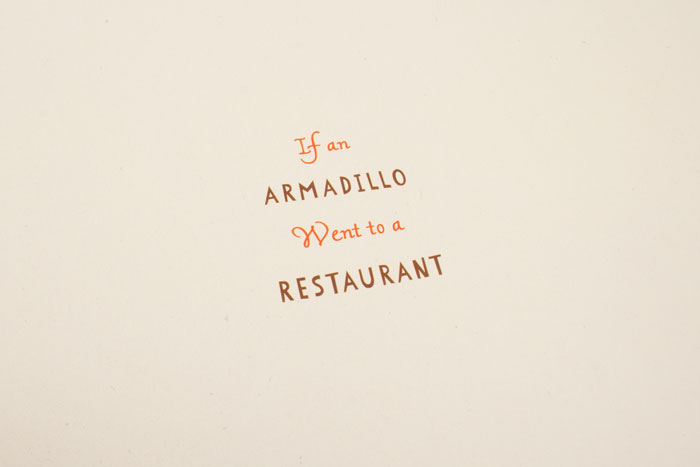 if an armadillo went to a restaurant SLIDE_02